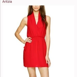 WILFRED Sabine Dress Red Size Extra Small
